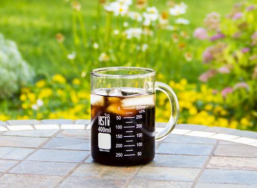 borosilicate glass beaker mug