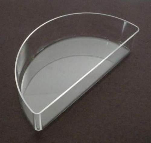 Refraction Box, semi-circle