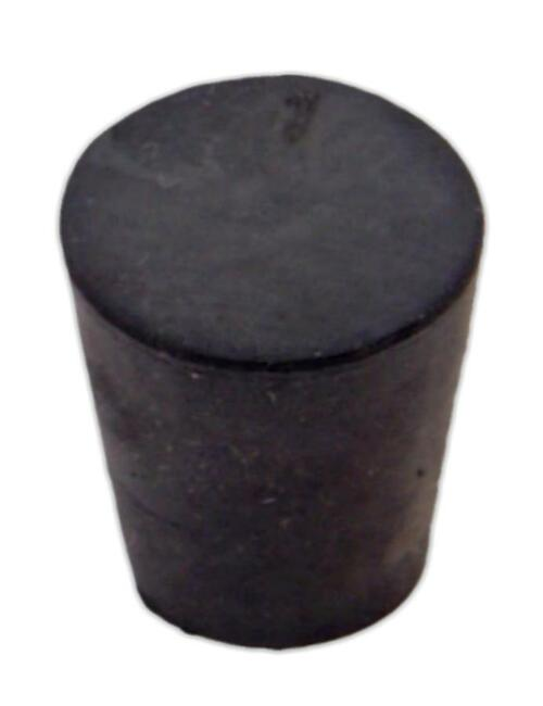 Rubber Stopper, #3, solid
