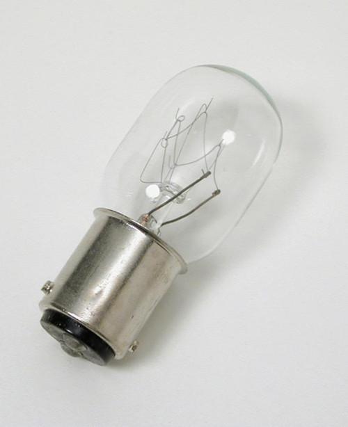 Bulb, 15 watt, 110-120 volt tungsten