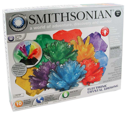 smithsonian crystal growing kit