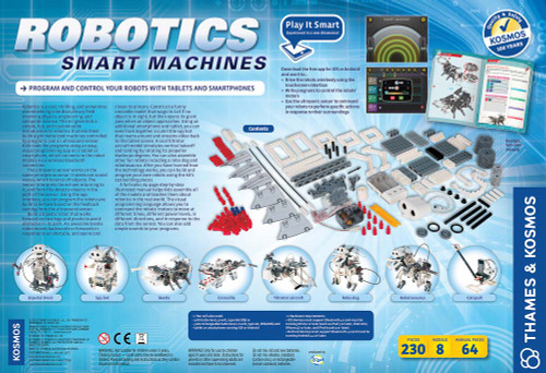 Thames & Kosmos Robotics, Smart Machines