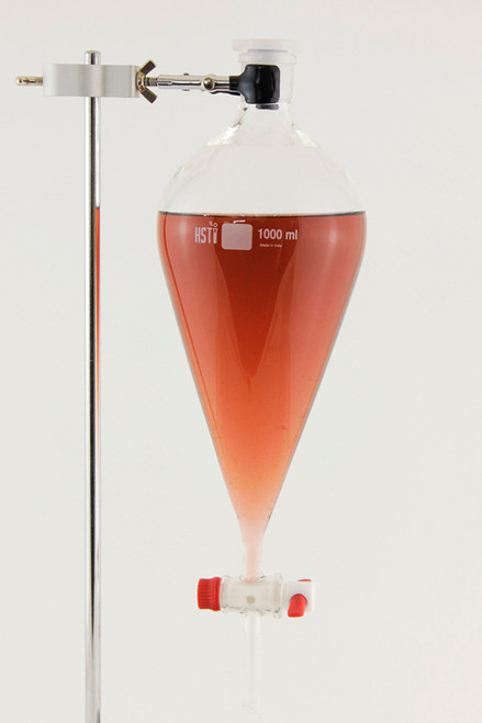 Separatory Funnel, 1000 ml Squibb style