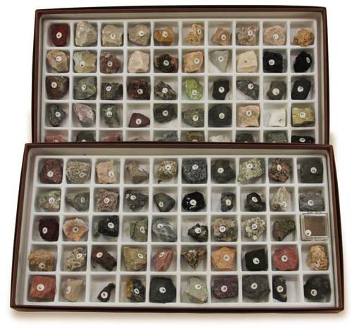 North American Rock Collection, 100 specimens