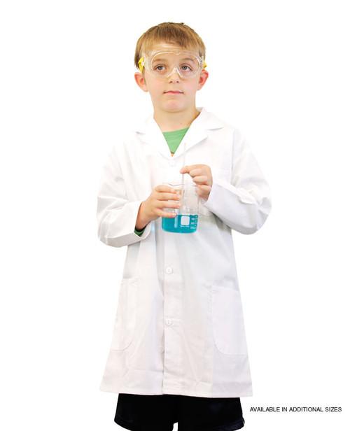 science lab coat