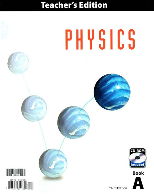 BJU Press Physics 12 Teacher's Edition