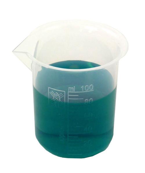 Beaker, polypropylene, 100 ml