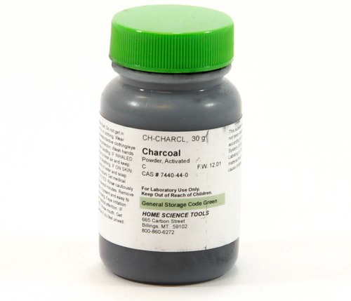 Charcoal Powder, activated, 30g