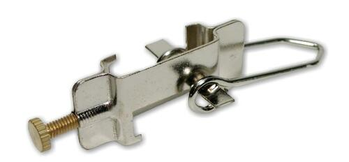 Knife-edge (lever) clamp