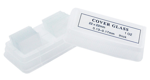 Slide cover slips, pre-cleaned