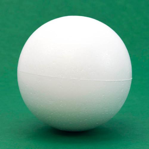 "Styrofoam ball, 4"" diameter, individual"