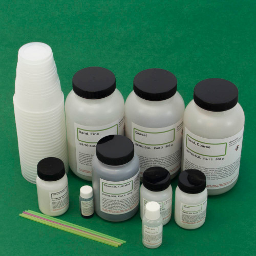 Water Treatment and Filtration Kit, Small Group Version