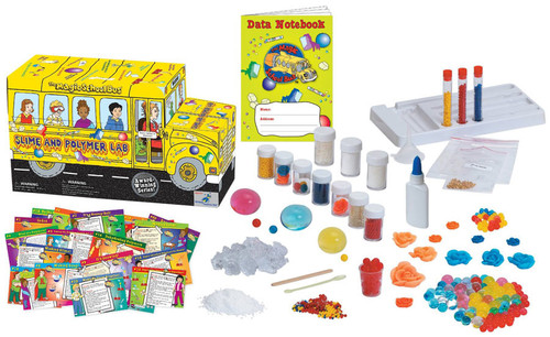 The Magic School Bus Slime and Polymer Lab Kit