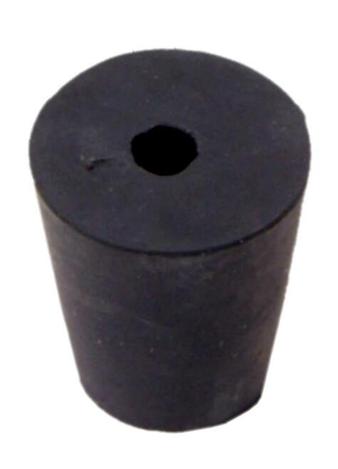 Rubber Stopper, #2, 1-hole