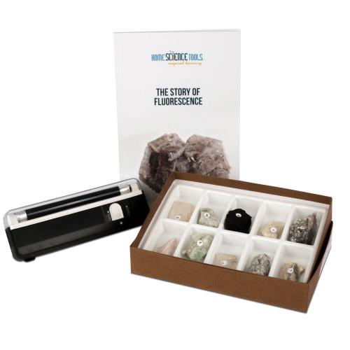 Fluorescent Minerals Kit - Longwave