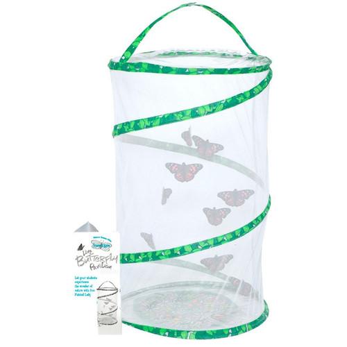 extended 23 inch butterfly pavilion habitat