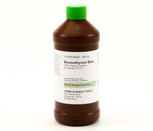 Bromothymol Blue, 500 ml