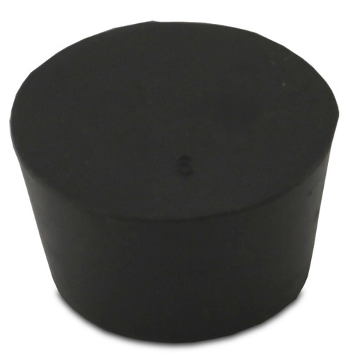 Rubber Stopper, #9, solid