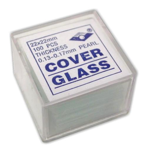 Microscope slide coverslips
