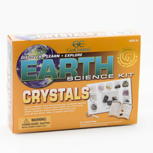 Earth Science Kit: Crystals Rock Collection