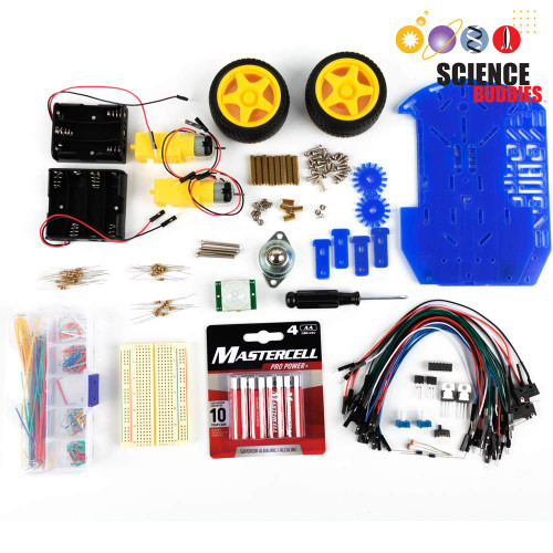 BlueBot: 4-in-1 Robotics Kit