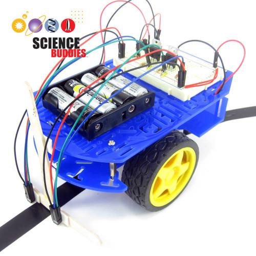 BlueBot 4-in-1 Robotics Classroom Kit