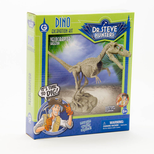 Dino Excavation Kit: Velociraptor