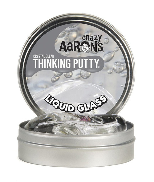 Crystal Clear Thinking Putty Liquid Glass