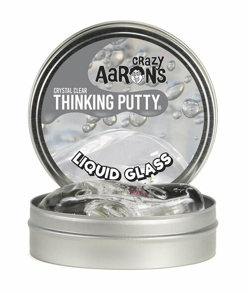 Crystal Clear Thinking Putty Liquid Glass