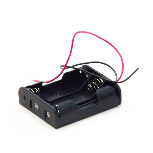 Battery Holder for Three AA Cells