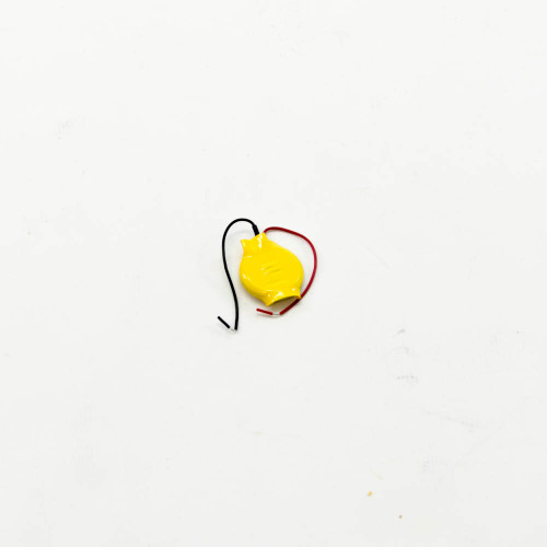 Battery, CR2032 Button, Alkaline, with leads