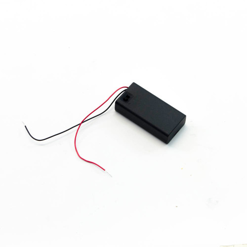 Battery Holder for AA Cells, with Switch