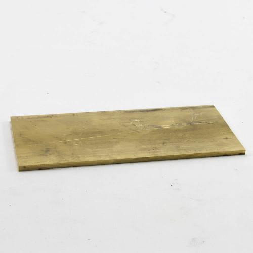 """Brass Plate, 8"""" x 4"""""""