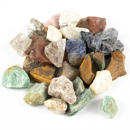 Brazil Mix Tumbling Rock, 2 lb