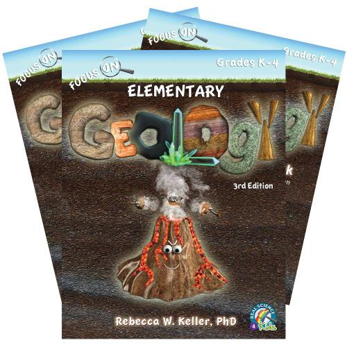Focus On Elementary Geology Set, 3rd Edition