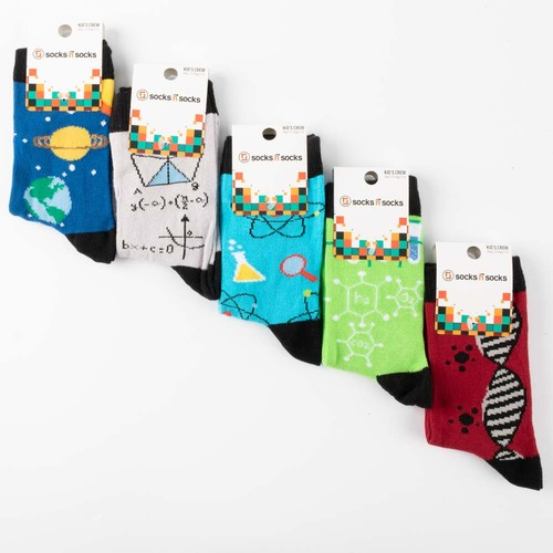 Kids Science Socks - 5 pack