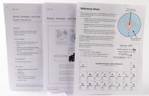 Atoms, Isotopes, and Ions Kit