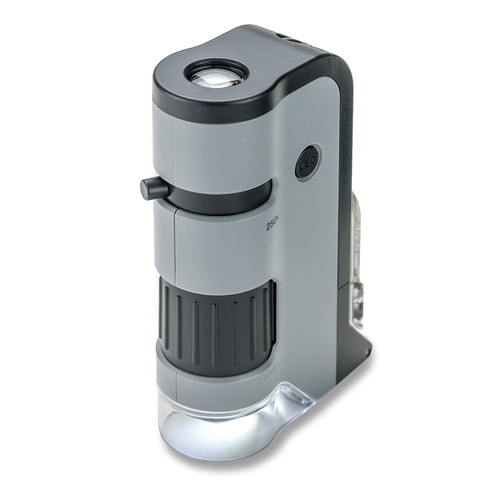 Pocket Microscope, LED, 250X with Smartphone Adapter
