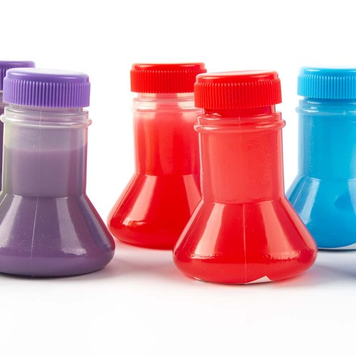 Slime Flask Science Party Favor, 8 Pack