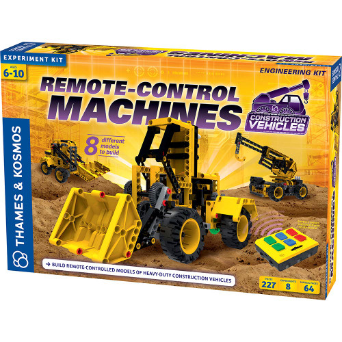 Thames & Kosmos Remote-Control Machines Construction