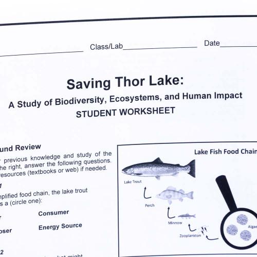 Biodiversity, Ecosystems and Human Impact - Classroom Kit