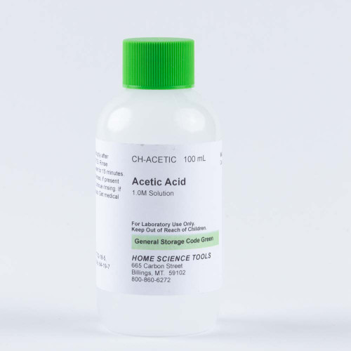 Acetic Acid Solution 1 M, 100 mL
