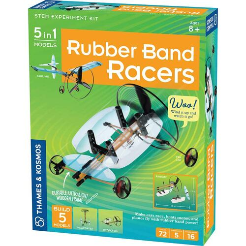 Thames & Kosmos Rubber Band Racers