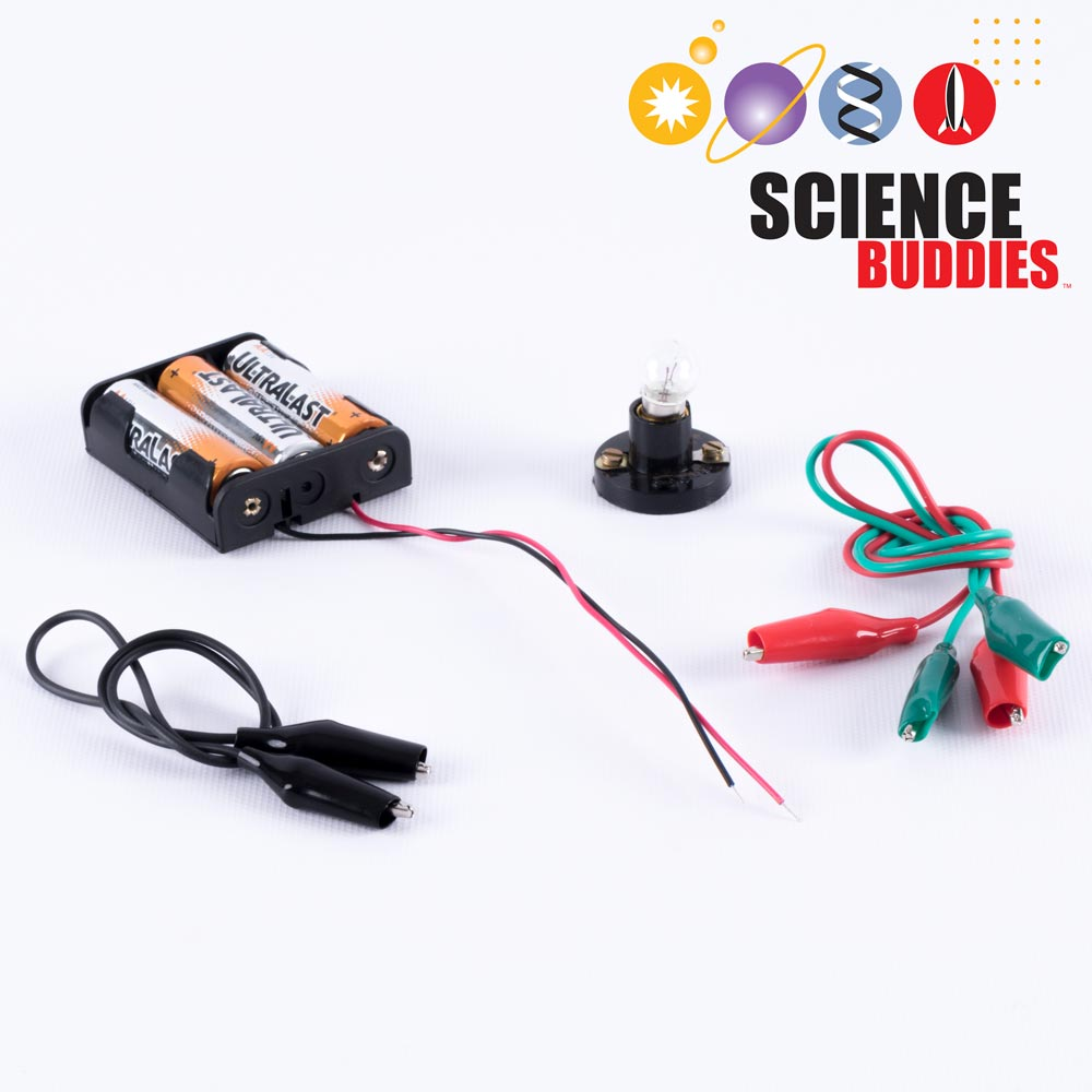 Basic Circuits Kit Science Buddies Batteries Light Bulb Simple Circuit Experiment For Elementary