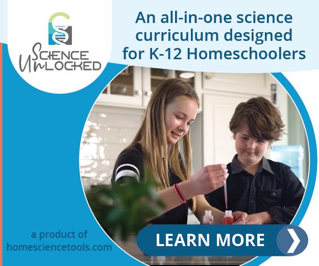 Science Unlocked. Designed for K-12 Homeschoolers
