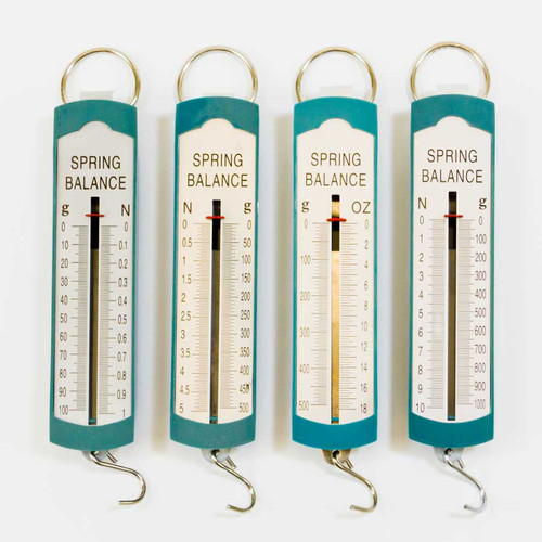 Springs Scales to Measure Weight or Force