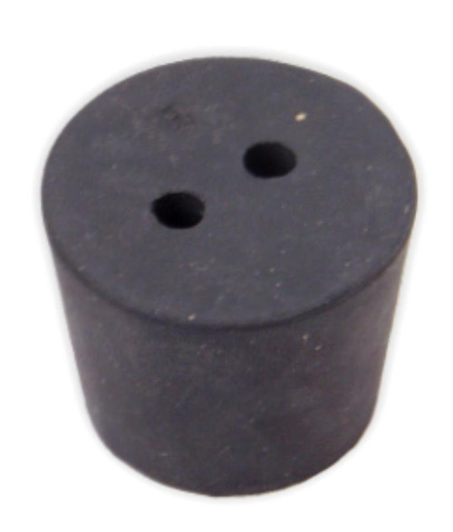 Rubber Stopper 65 2 Hole