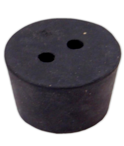 Rubber Stopper 10 2 Hole