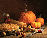 """Wondrous Wicks "" Pumpkin Pie -   4 OZ - Burns 20-25 Hours!"