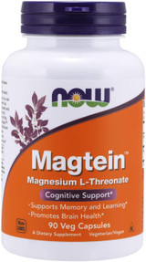 NOW Magtein 144 mg #90 (formerly Life Extension Neuro-Mag)